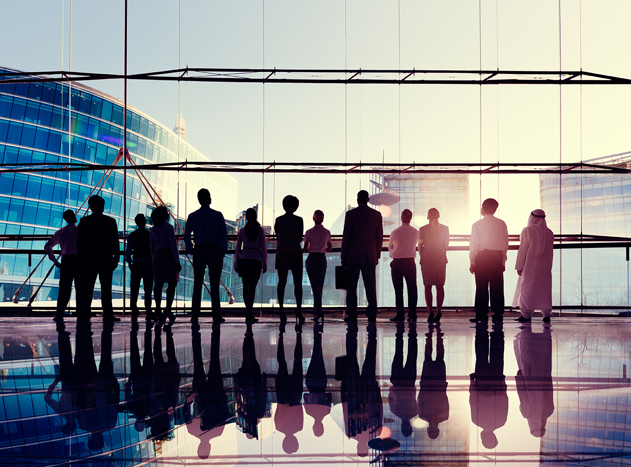 global corporate business team